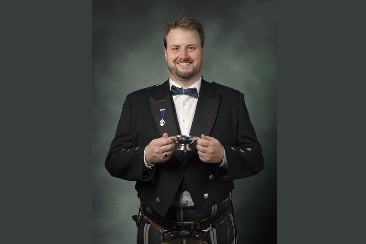 "Thomas Plaue, Whisky-Experte und ""Keeper of the Quaich"" (Vereinigung der schottischen Whisky-Kultur/Foto: Schlumberger)"