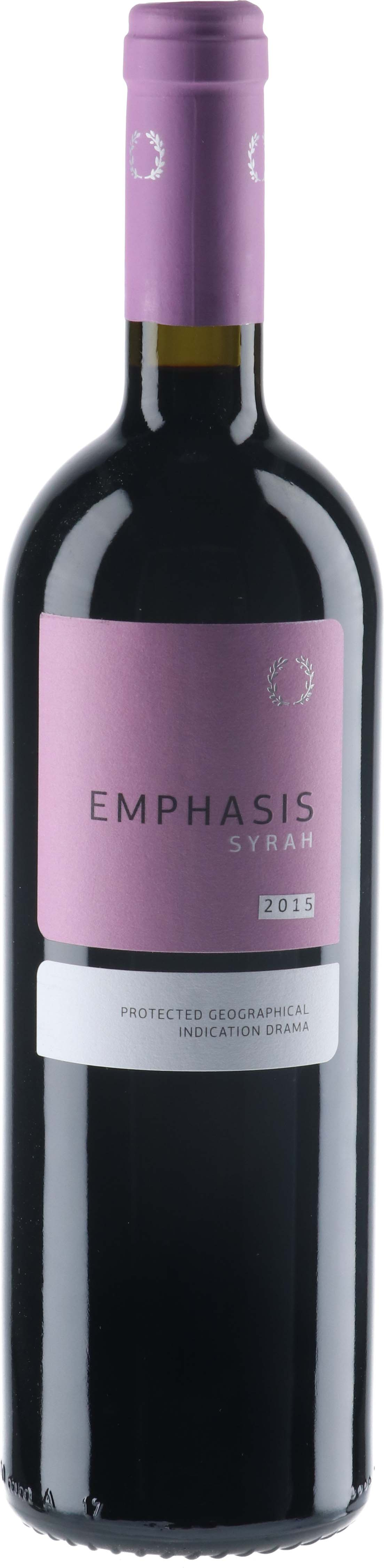 2015 Emphasis Syrah