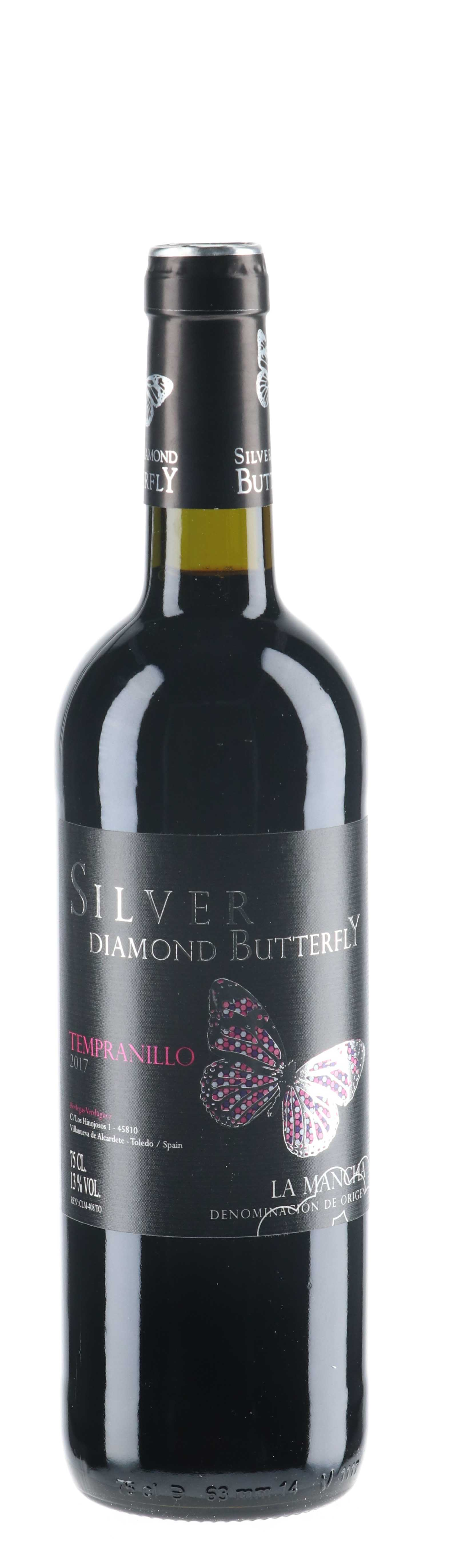 2017 Silver Diamond Butterfly Oak Aged