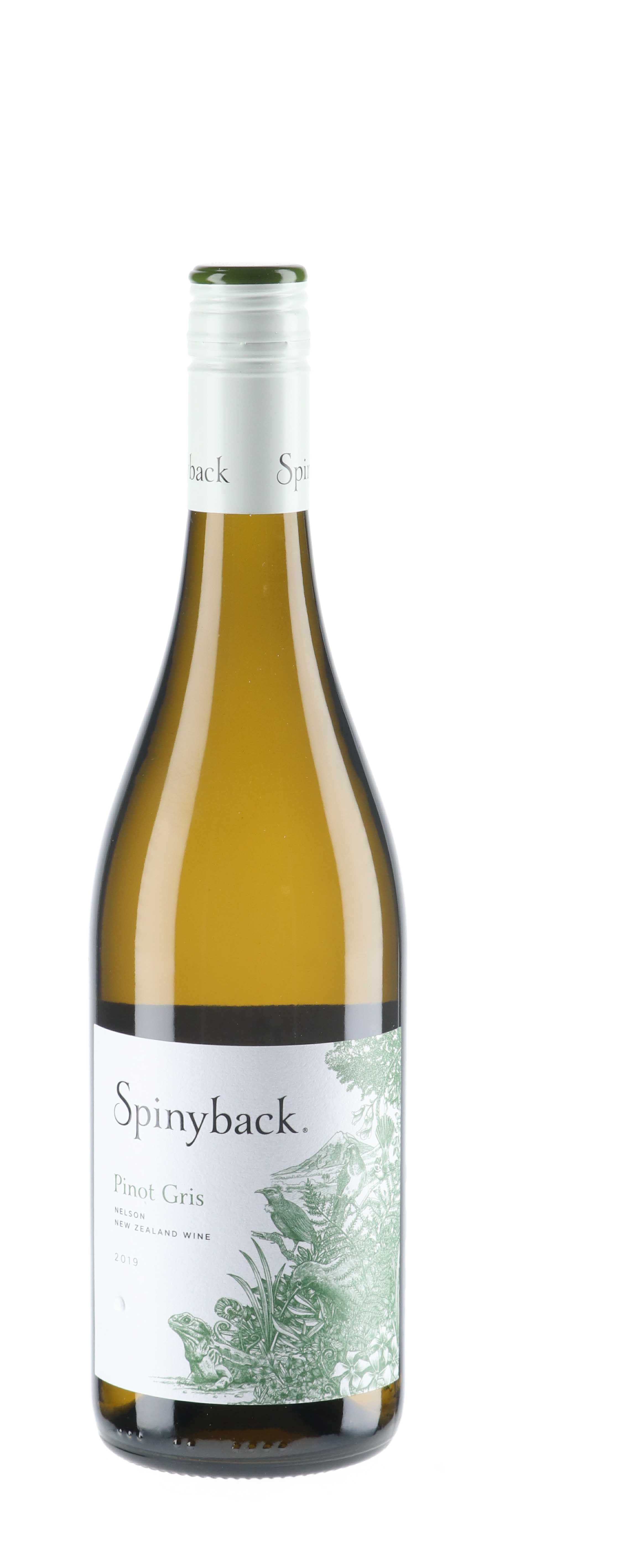 2019 Spinyback Pinot Gris New Zealand Wine