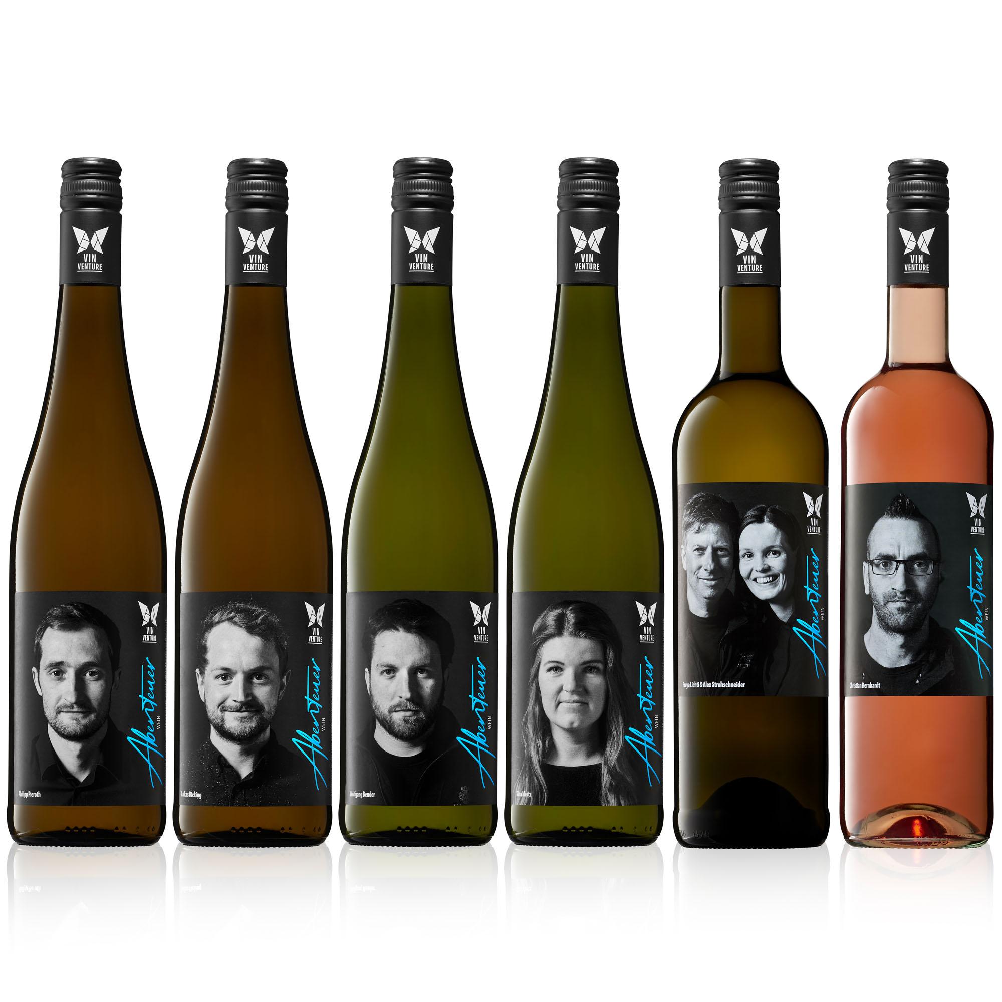 Die Abenteuer Weine der VinVenture Weinlinie werden durch die Mitglieder per Klick mitgestaltet