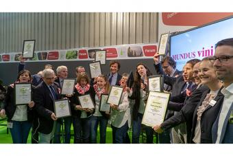 Happy winners: Fattoria La Vialla has been named the best organic wine producer (international) for the fifth time.